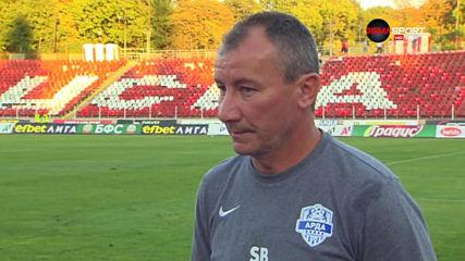 Мнението на Стамен Белчев след загубата от ЦСКА