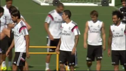 Реал тренира преди Суперкупата, Касияс ще пази срещу Атлетико
