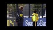 Борусия Дортмунд се готви за мача с Байерн Мюнхен, снима се преди сезона
