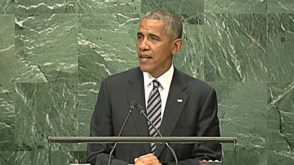 United Nations: Obama delivers last speech at UN General Assembly