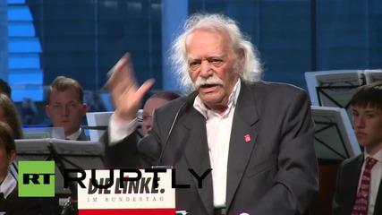 """Глезос в Бундестага: """"Не искаме Европа подчинена на НАТО."""""""