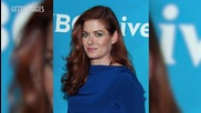 "Debra Messing Throws Shade at Jeremy Piven Saying He's ""The Worst Kisser"""