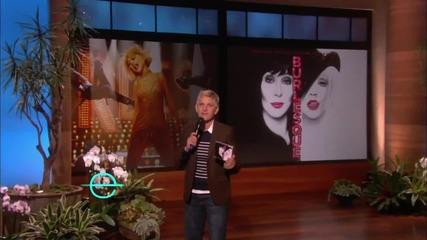 Christina Aguilera - Something's got a hold on me - live on Ellen
