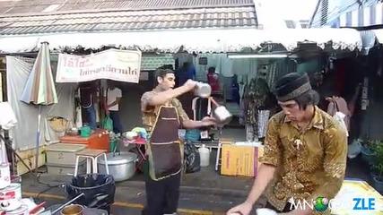 Студен тайландски чай