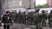 Моторола и Гиви на Парад Победа 9 Май в Донецк. Хората се радват!