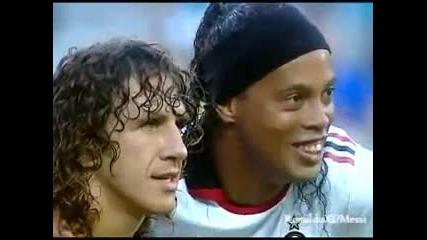 Ето как Роналдиньо бе посрешнат на Камп Ноу