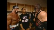Wwe Kane , The Rock & Hulk Hogan