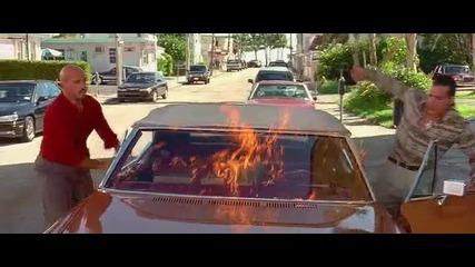 Смешен момент от филма Бързи и яростни 2
