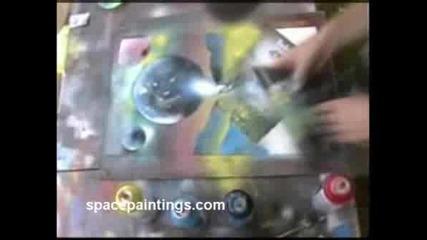 Рисуване С Спрейове