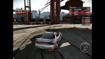Auto Club Revolution /// Mazda Rx-7 Drifting Задобравям