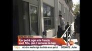 Испания с Шави, но без Алба в гостуването на Франция
