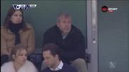 Семейство Абрамович наблюдава Челси - Манчестър Юнайтед