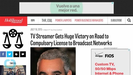 Shocking Ruling Gives TV Streamer Huge Victory