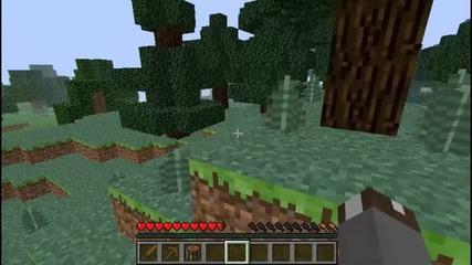 Minecraft Оцеляване на стара версия #1