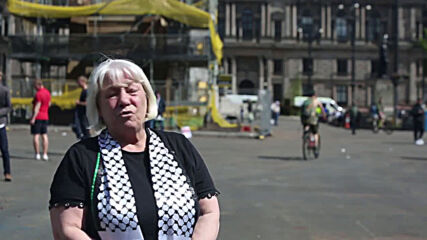 UK: Hundreds of Glaswegians join Palestinian solidarity demo amid rising conflict
