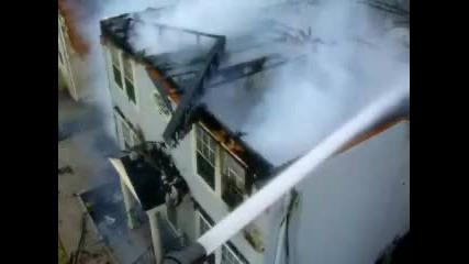 Пожар на къща