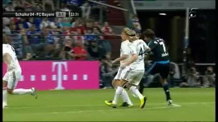 Gol de Raul (segundo Gol) - Schalke 04 - Bayern Munich 1 - Total Cup 2010
