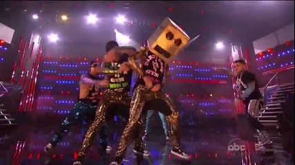 Lmfao - Party Rock Anthem / Sexy & I Know It ( American Music Awards 2011 )