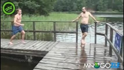 С М Я Х - Влизане във водата със стил