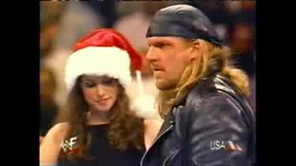 Triple H And Stephanie Real Love