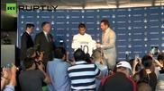 Футболният отбор Ел Ей Галакси официално представят Джовани Дос Сантос