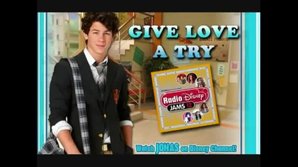 Nick Jonas - Give love a try (full song)