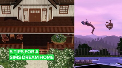 "Tips to be an awesome ""Sims architect"" of e-dream homes"