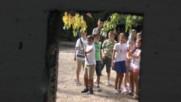 Пиратски кораб. Детско парти в парка.