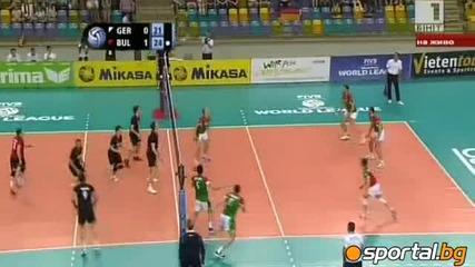 Германия 1:3 България!!! Световна лига по волейбол