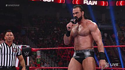 Drew McIntyre vs. Veer: Raw, July 26, 2021