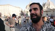 Italy: Protesters denounce COVID Green Pass in Rome