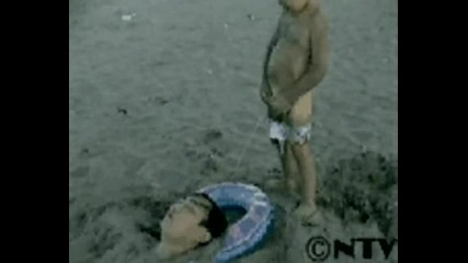 Ето защо не трябва да се заравяте под пясъка