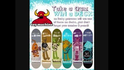Skate Boards Toy Machine
