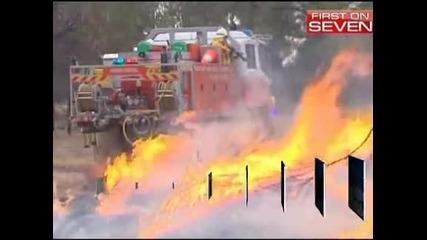 Горски пожари бушуват в Югоизточна Австралия