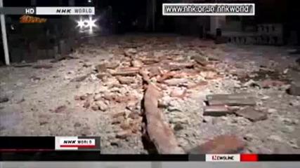( 15.03.2011) Земетресение M6.4 в Шизуока