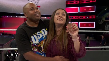 Catching up with the fan who proposed at WWE TLC 2016