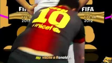 Cancion Balon de Oro 2012 Leo Messi y Cristiano Ronaldo | Funny