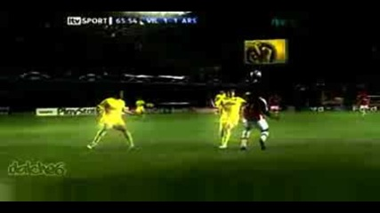 Villarreal Vs Arsenal Adebayor 1 - 1 Hd.avi