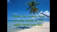 Mohombi ft. Nicole Scherzinger - Coconut Tree - Lyrics On Screen