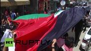 State of Palestine: Gazan youth march against Israeli & Egyptian leadership