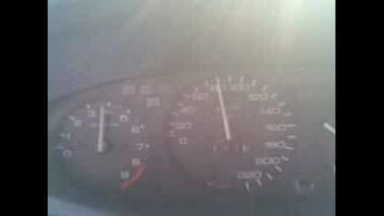 Ускорение На Honda Civic 93g.
