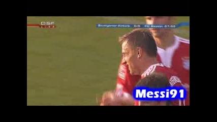21.07 Байерн Мюнхен - Щутгарт Кикерс 10:0 Ивица Олич втори гол