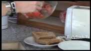 Diet Recipe - Bruschetta with Tomato and Garlic