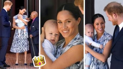 Ето го и Арчи! Синът на Меган Маркъл и принц Хари с първа публична поява