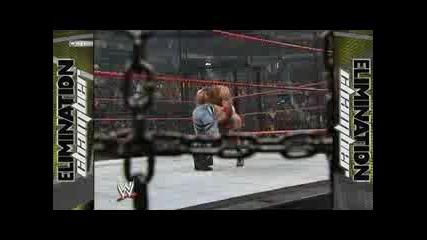 wwe Elimination Chamber Match 2005 част 2 за титлата в тежка категория