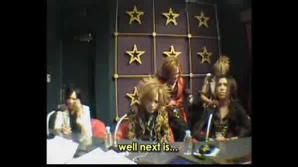 The Gazette - Kai&uruha Discussion In Nec