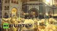 Russia: Kirill celebrates Saint Vladimir and calls for Ukraine peace