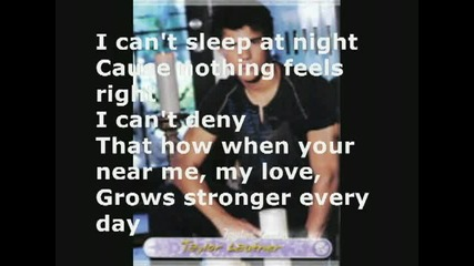 Taylor Lautner in Caught Up In You Lyrics!! - Youtube