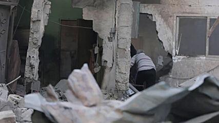 State of Palestine: Israeli airstrike hits Bureij camp in Gaza Strip