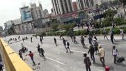 Venezuela: Running battles in Caracas as protesters continue to clash with police